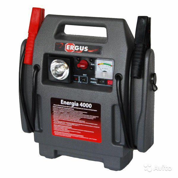 Пусковое ERGUS устройство Energia 4000 (12В,17Ач,400А)