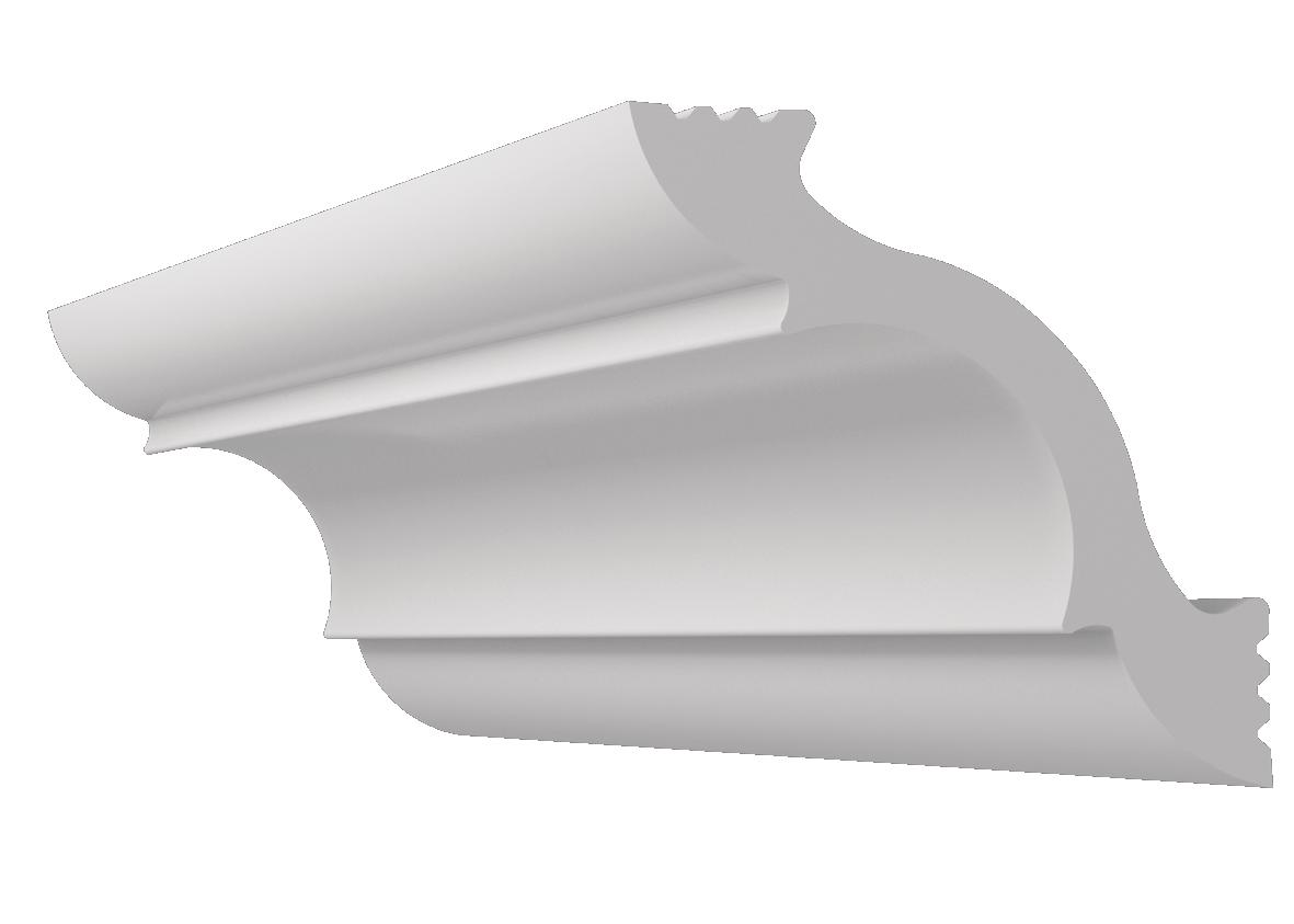 Плинтус потолочный K-45 (45х45)