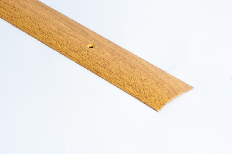 'Порог-стык АЛ-163 Дуб 0,9м