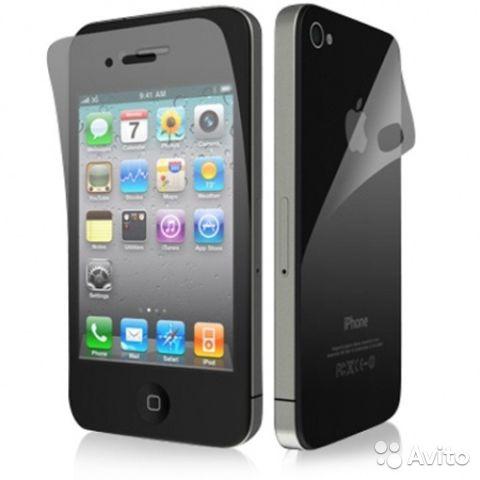 'Пленка матовая на Iphone 5