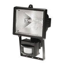 'Прожектор с датчиком движения 120гр., 220V, 500W, ST-500А черный