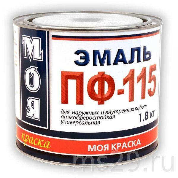Эмаль ПФ-115 МОЯ КРАСКА бежевая 1,8кг