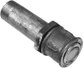 Сгон сталь оц Ду 15 L=110мм в комплекте из труб по ГОСТ 3262-75 КАЗ