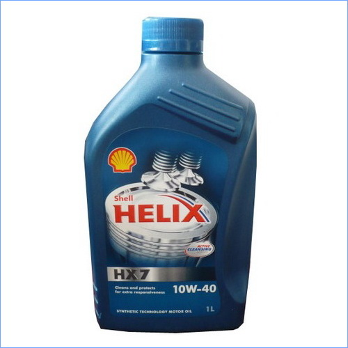 Масло моторное Shell Helix HX7 10w40 1л