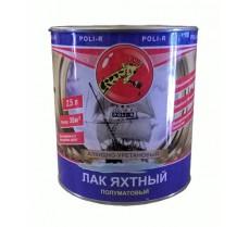 'Лак яхтный Поли-р полуматовый 2,5 л