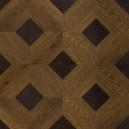 Ламинат Hessen Floor/Grand (1592-5) Дуб мореный 1200*400*12мм (1уп.-2,4кв.м) 33 кл.