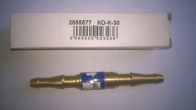 Клапан обратный КО-К-30 в разрыв рукава