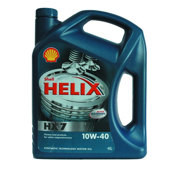 Масло моторное Shell Helix HX7  10w-40 4л