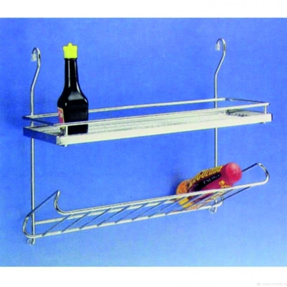 Полка для специй и бутылок 450х200х400мм
