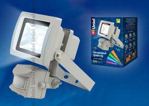 'Прожектор светод-ный с датчиком движения S21-10W/WW IP54