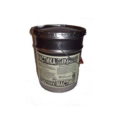 Мастика битумная холодного применения 17-18 кг