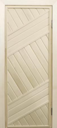 Дверь банная липа глухая 1,7х0,7м