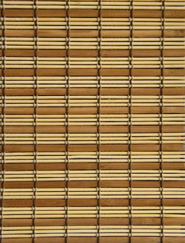 Жалюзи бамбук рул.из круг. и плос.пал. один.320002