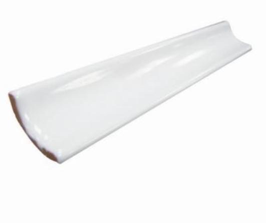Уголок керамический  белый 20*3,5