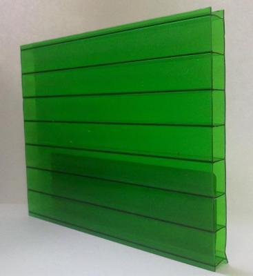 Поликарбонат 4мм зеленый