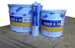 Клей-герметик для кровли Катепал К-36 10 л