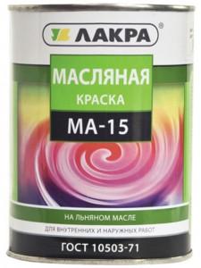 'Краска МА-15  1,9 кг  Белый Лакра
