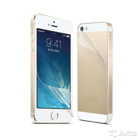 Пленка глянцевая на Iphone 5