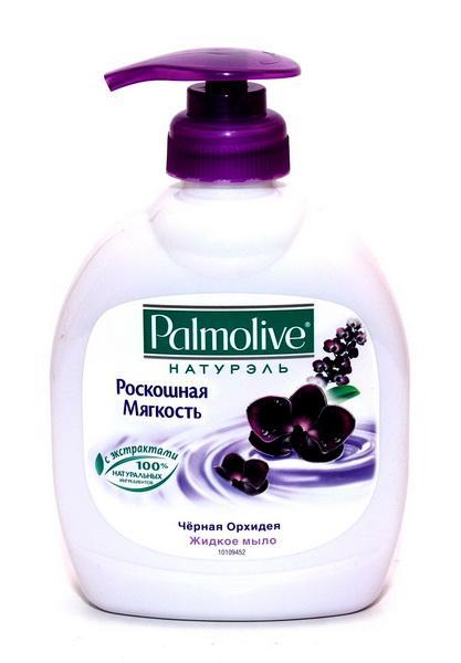 Жидкое мыло Палмалив Черн. орхидея 300мл (