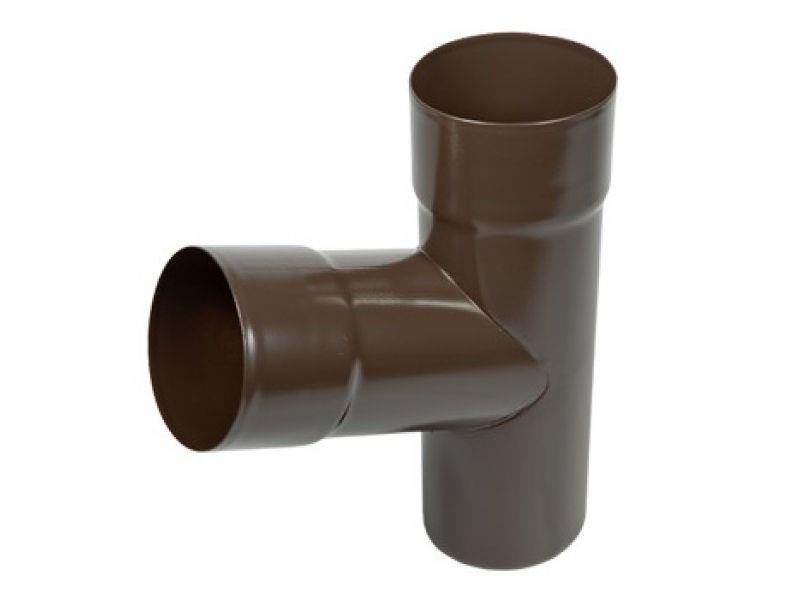 Аквасистем Тройник ф90 (коричневый) RR32