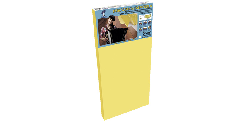 Подложка листовая 1,8мм 8,4м2 (для т/полов)