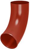 Аквасистем Отвод трубы 100/150 красно-коричневый