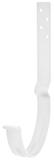 Аквасистем Крюк крепления желоба длинный, система 90/125 (белый)