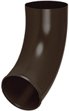 Аквасистем Отвод трубы система 90/125 RAL 8017 (коричневый)