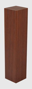 Соединение к плинтусу МДФ 18х18х84 итальянский орех