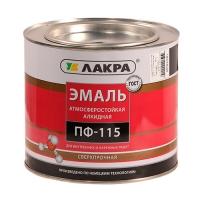 'Эмаль ПФ-115 (Лакра Синтез) черный 1,9 кг