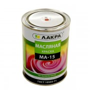 'Краска МА-15  1,9 кг Красный Лакра