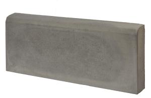 Бордюр тротуарный 500х210х60 мм серый вес 13 кг.