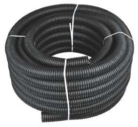 Труба дренаж для электропроводки ф110 ПНД/ПВД с муфтой