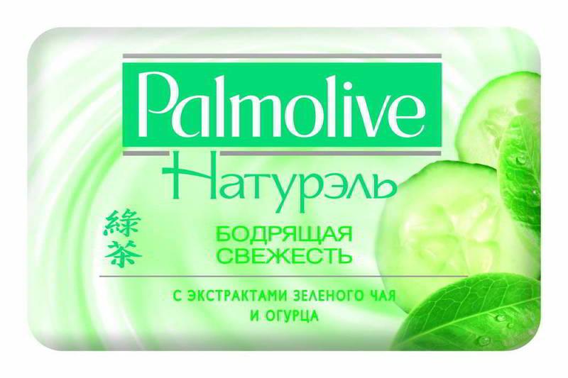 Мыло туалетное Палмалив Бодрящая Свежесть 90гр