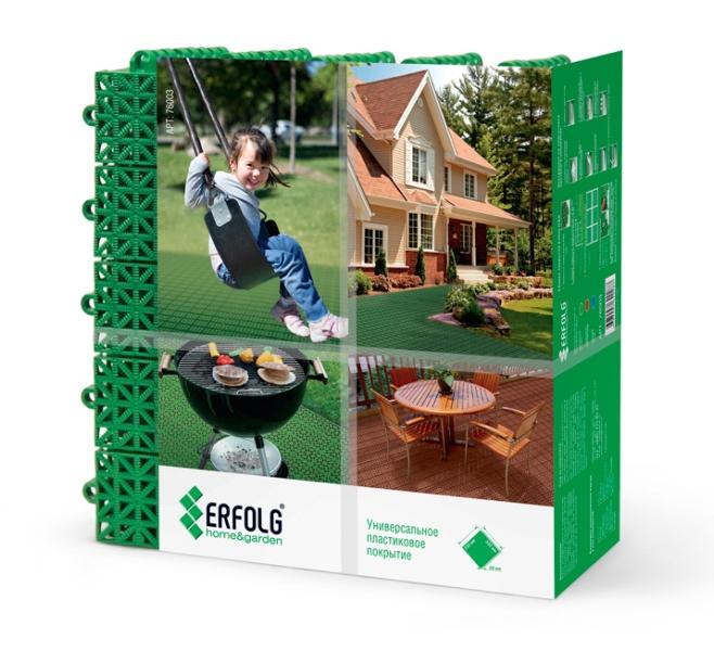 'Покрытие ERFOLG home and garden зелёный     (упаковка)