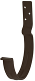 Аквасистем Крюк крепления желоба короткий, система 90/125 (коричневый RR32)