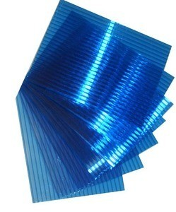 Поликарбонат 10мм синий