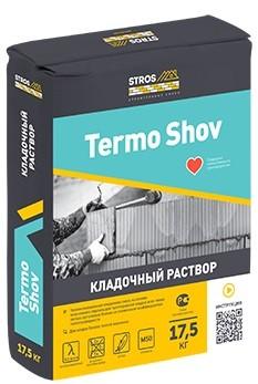 Теплый кладочный раствор Stros Termo-Shov
