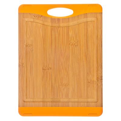 Доска разделочная  35*25*1.6см.оранжевая Satoshi (470р.)