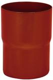 Аквасистем Соединитель трубы, система 90/125 (красно-коричневый)