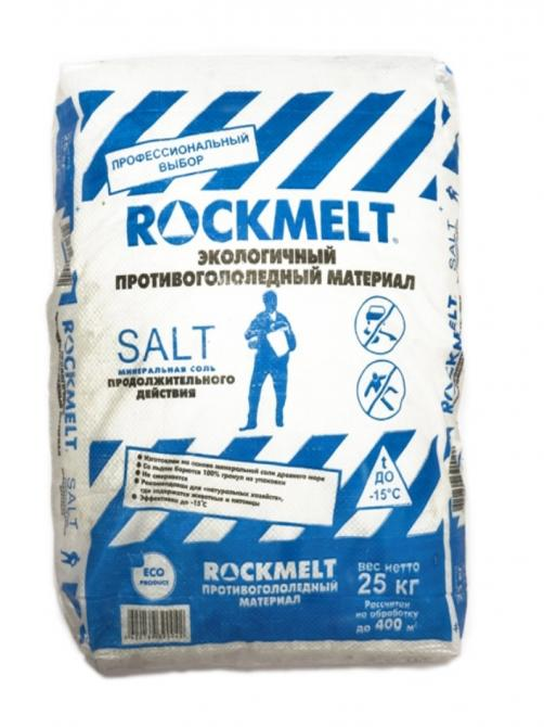 Противогололедный материал Рокмелт Salt 10,5кг