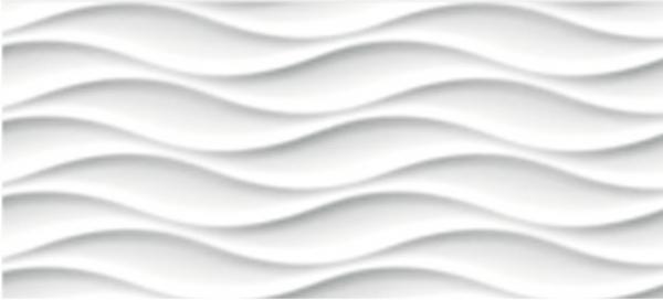 'Плитка наст. WAVE бел. WAG051 20Х44