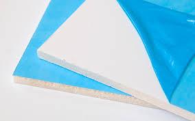 ПВХ Откос белый (вспененный) 4 мм, (лист 6,20 кв.м, 2,03х3,05 мм)