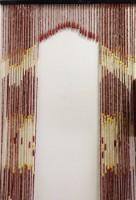Штора арочная из дерева 90х200 см