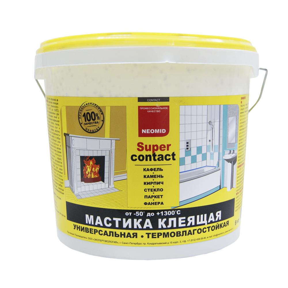 Мастика NEOMID 4кг клеющая универс.термостойкая(-50*до+1300*)