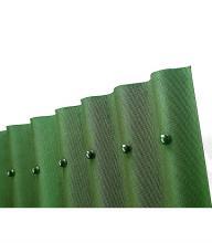 Ондулин 10 волновый зеленый 1950х950 мм