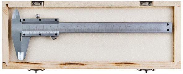 Штангенциркуль 200 мм метал.