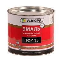Эмаль ПФ-115 (Лакра Синтез) шоколадно-коричневый 2,8 кг