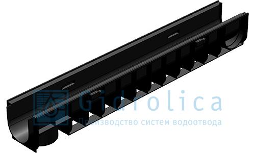 Лоток водоотводный ЛВ-10.14,5.13,5 пластиковый