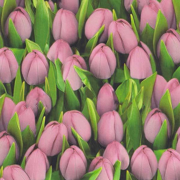 416723 ОБОИ 0,53*10 м винил Ambiente Тюльпан роз
